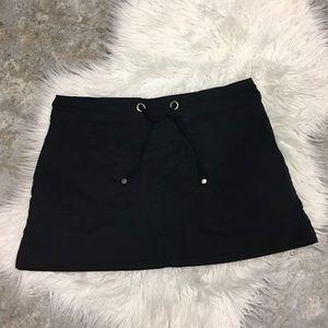❤️ parana  stretch comfy Black Skort with 2pockets